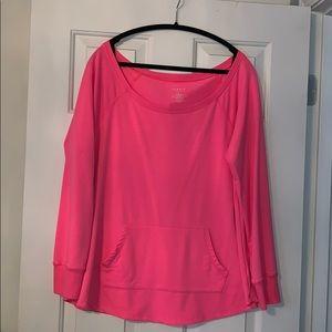 Torrid Neon Pink Sweatshirt Size 2